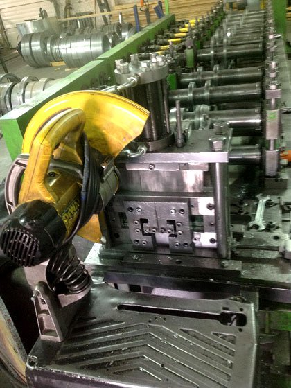 Виробництво профілів з холоднокатаної оцинкованої сталі
